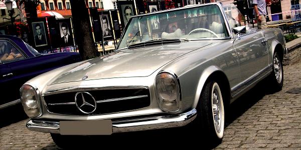 Części do klasycznych modeli Mercedesa OLDTIMER